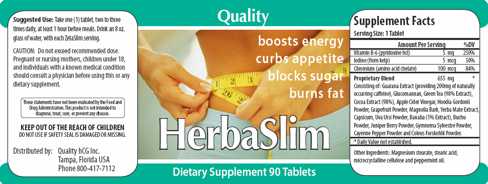 HerbaSlim is an all-natural way to help curb your appetite and increase energy.