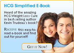 HCG Simplified E-Book. Free - just sign up for our No Spam Email list.
